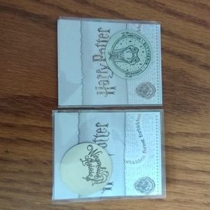Origami Owl Harry Potter Plates - Set of Two